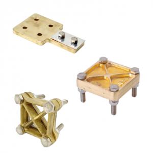 ligador circuito e barra de terra